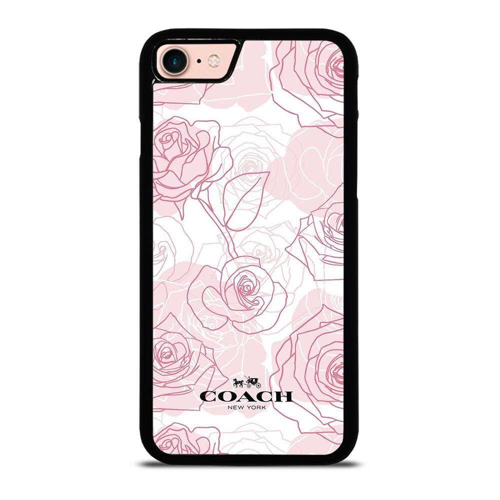 Coach roses iphone 8 case casefine in 2020 iphone 7