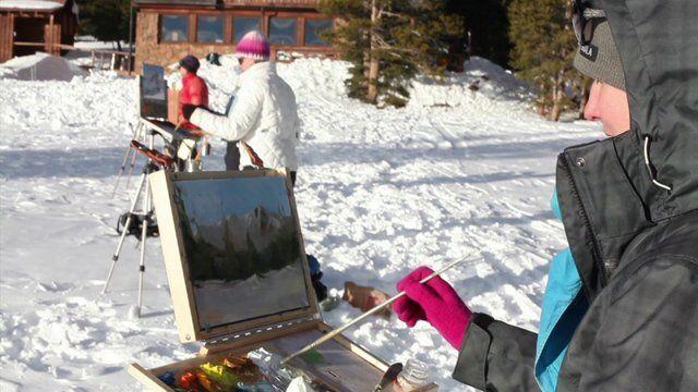 Into Plein Air video- Colorado artists