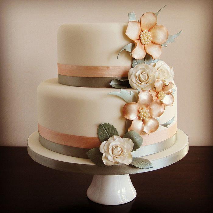 Cake Vintage 2 Tier Wedding
