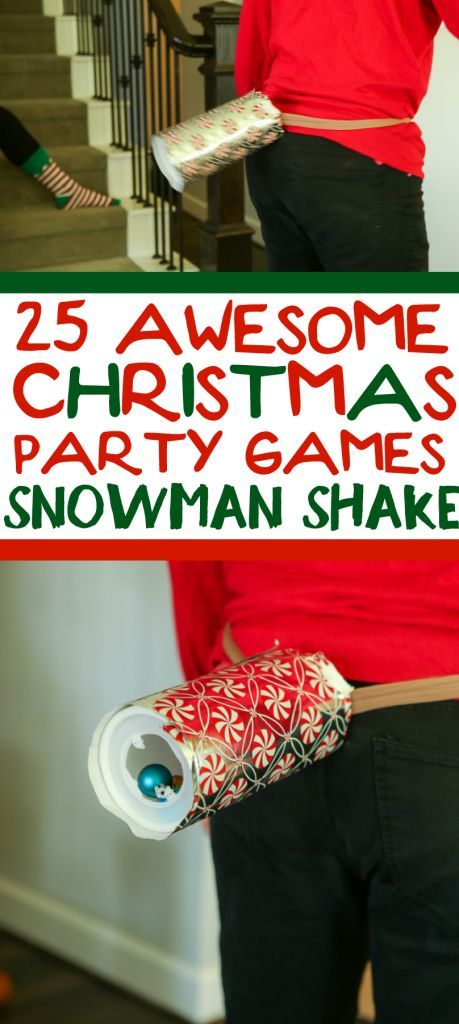 Great Christmas Party Ideas For Work Part - 24: 25 Funny Christmas Party Games That Are Great For Adults, For Groups, For  Teens
