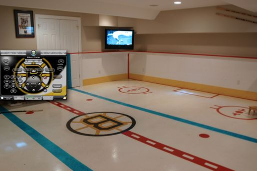 Indoor Ice Hockey Rink But Mine Would Be In The Flyers Logo Sports Man Cave Man Cave Furniture Man Cave Ideas Cheap
