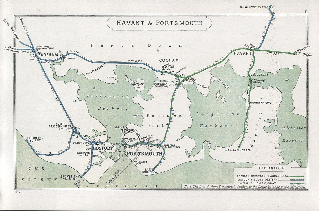 From Wikiwand Southsea In 2020 Southsea Portsmouth Hayling Island