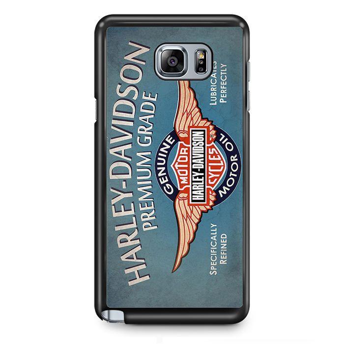 Harley Davidson Premium Grade TATUM-5052 Samsung Phonecase Cover Samsung Galaxy Note 2 Note 3 Note 4 Note 5 Note Edge