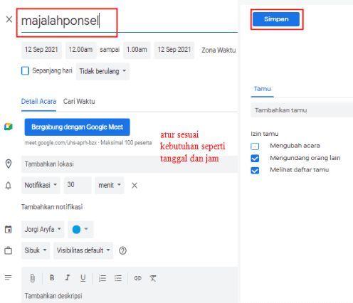 cara ganti host di google meet