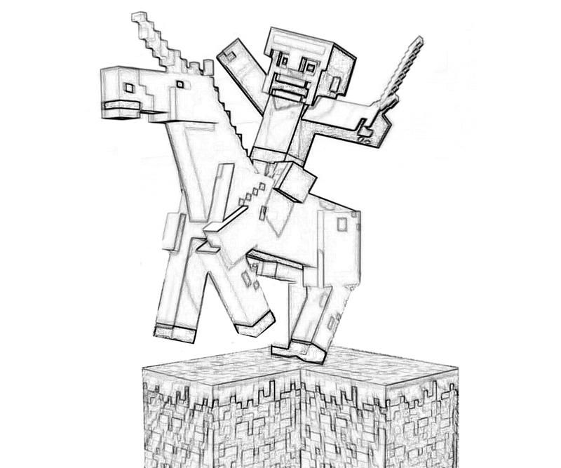 youtube minecraft coloring pages - photo#10