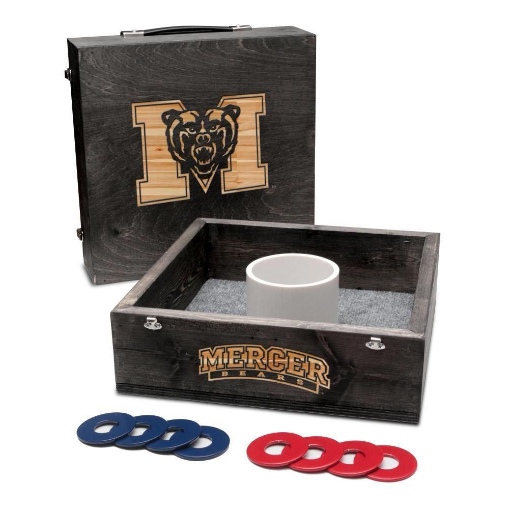 Washer Toss Game - Mercer University Bears