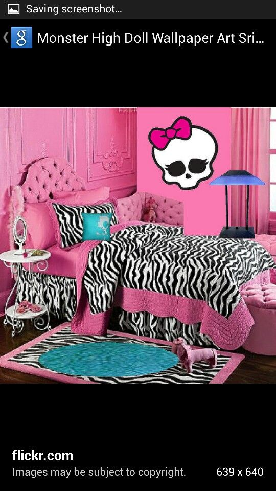 Planning on doing a Monster High theme for Kayle\'s room once her ...