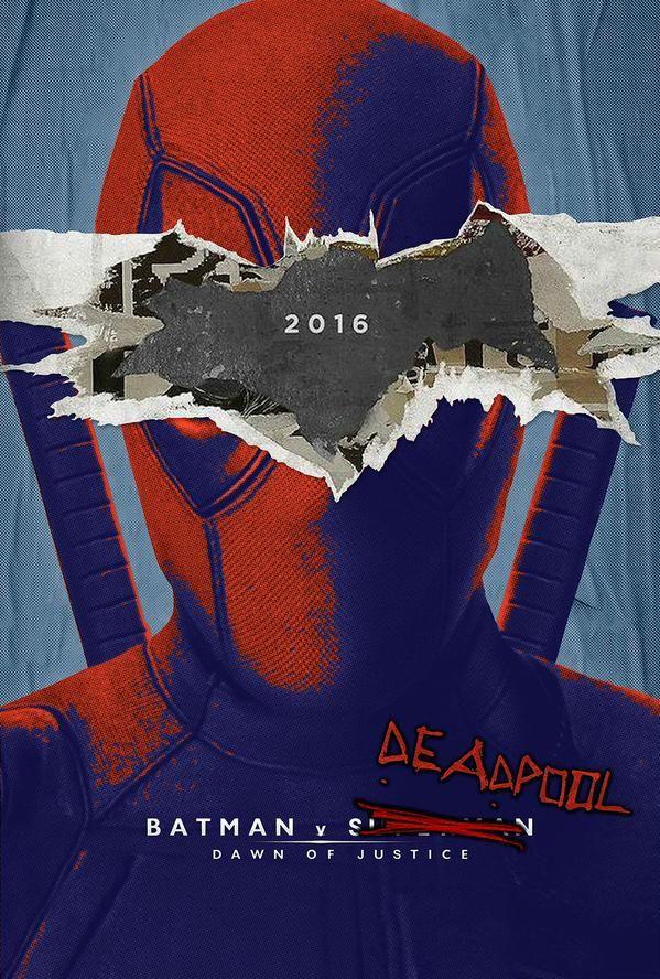 Fan made deadpool poster via SkriptFr More movie poster here.