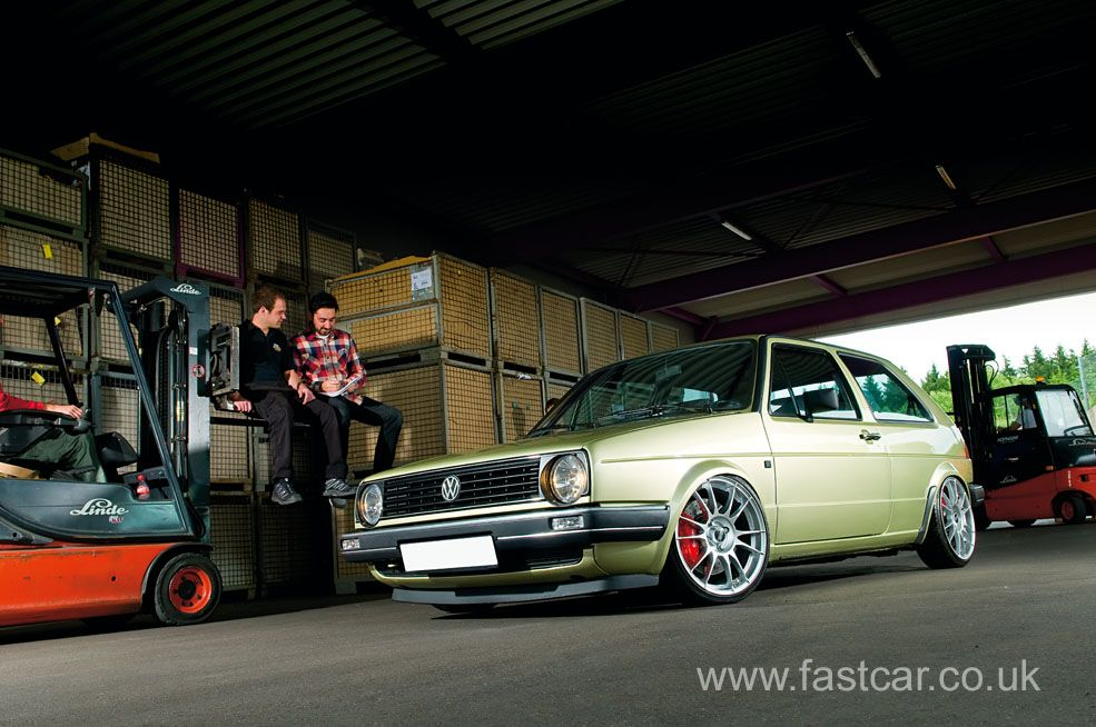 modified vw | kw automotive's modified vw golf mk.2 | fast car