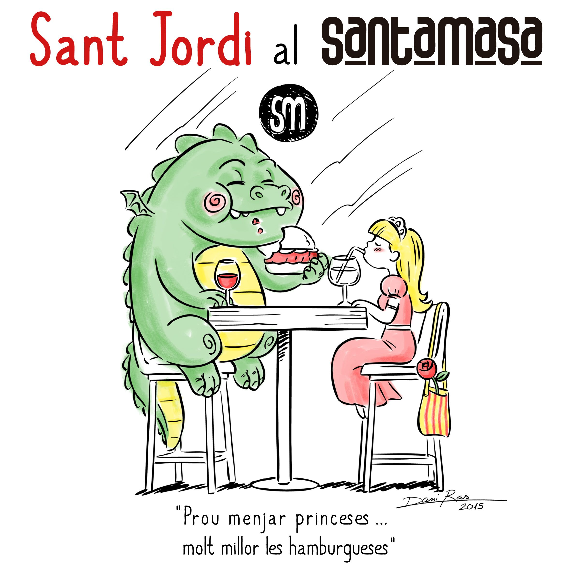Pin En Sant Jordi Al Santamasa