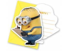 3ebf837c333bd cartes invitations minions- deco anniversaire