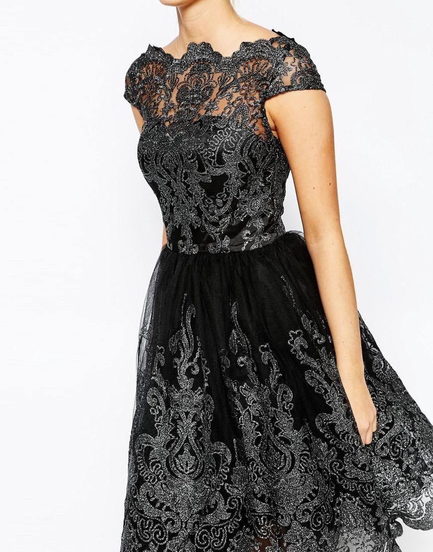 вечерние платья черные с кружевом фото отсюда