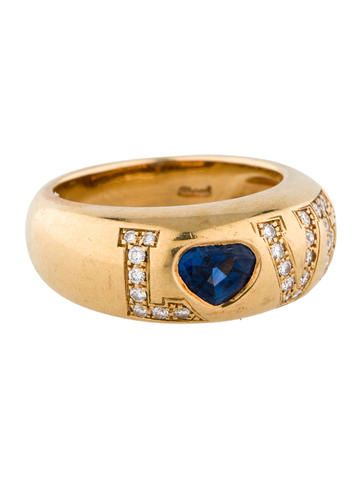 7123651fc72fd Diamond and Sapphire Love Ring | beautiful engagement rings | Love ...