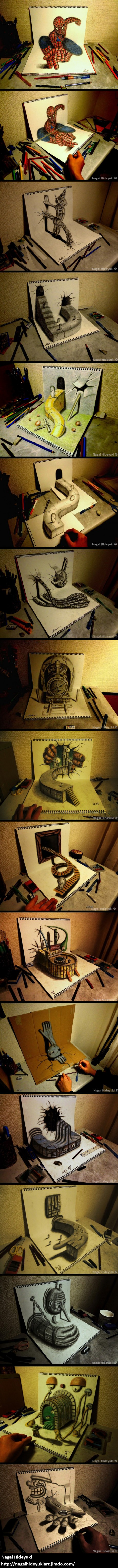 Awesome 3D art- excuse me as I go burn my art due to my incompetency