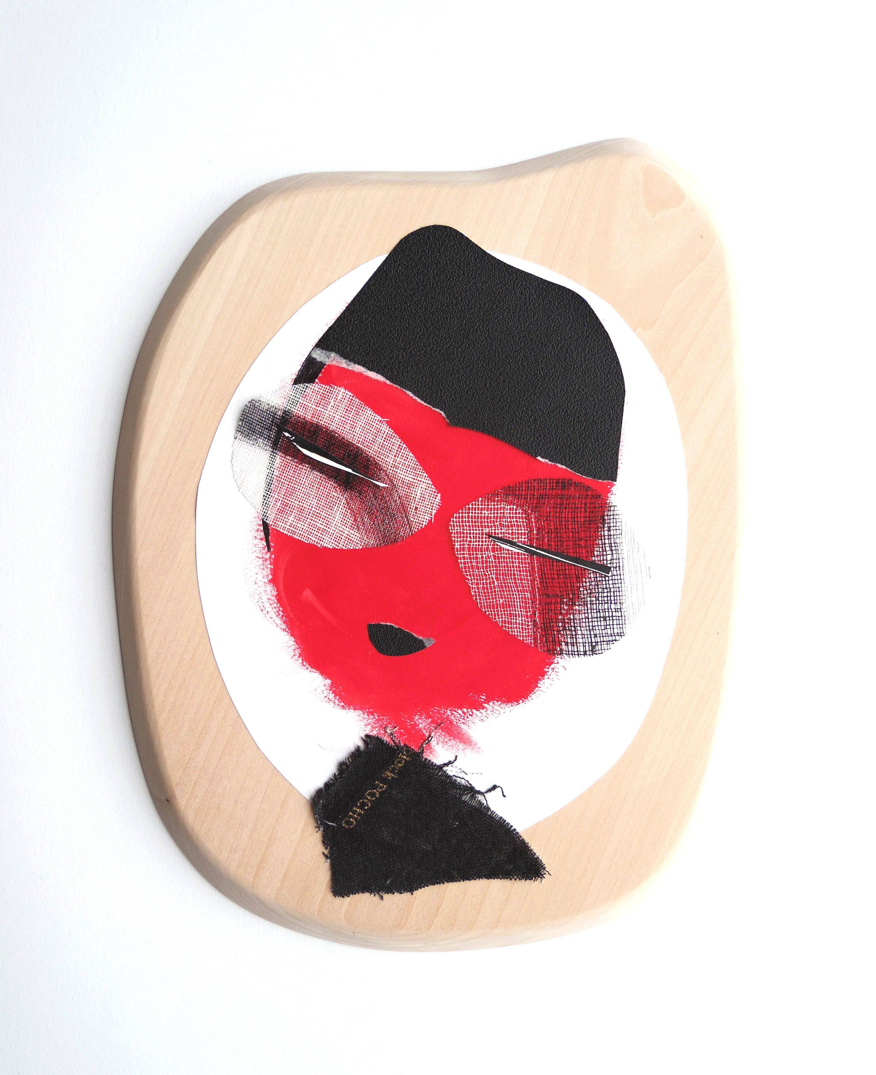 KaT On wood... Wood - fabrics -paper - painting http://katartworks.blogspot.fr