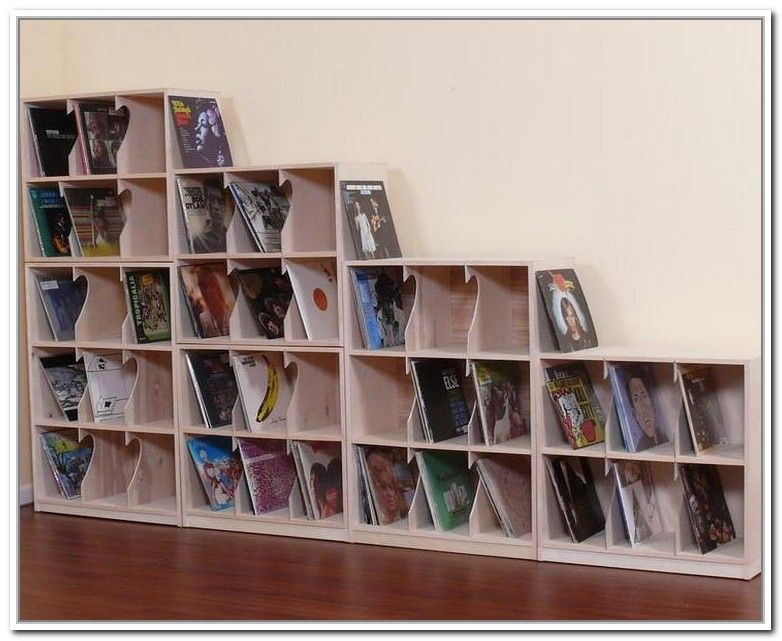 Great 27 Vinyl Record Storage And Shelving Solutions