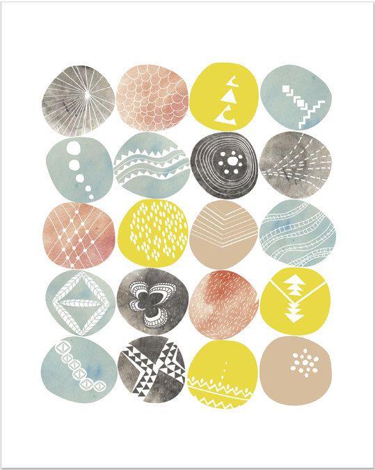 Abstract Print Art, Abstract Wall Decor, Abstract Art Print ...