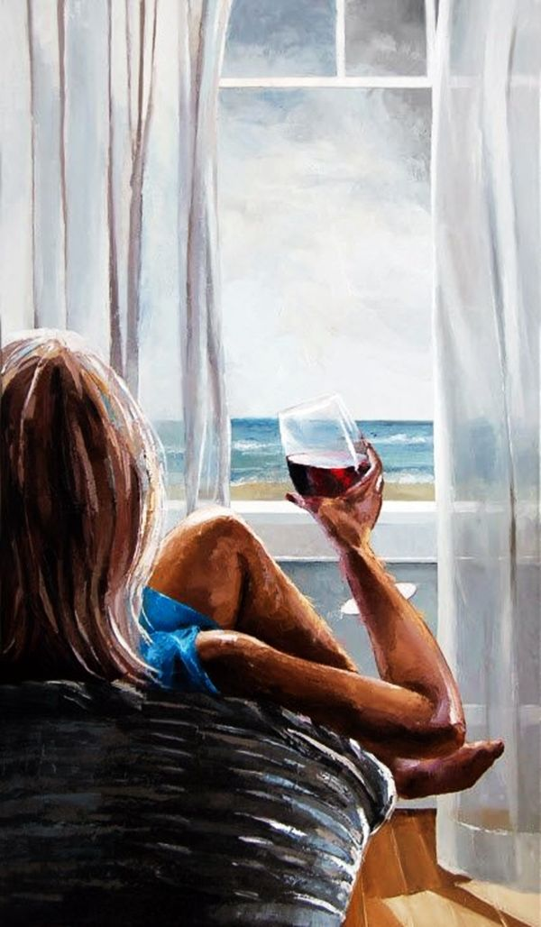 30 Best Canvas Painting Ideas For Beginners Beginner Painting Wine Art Canvas Painting