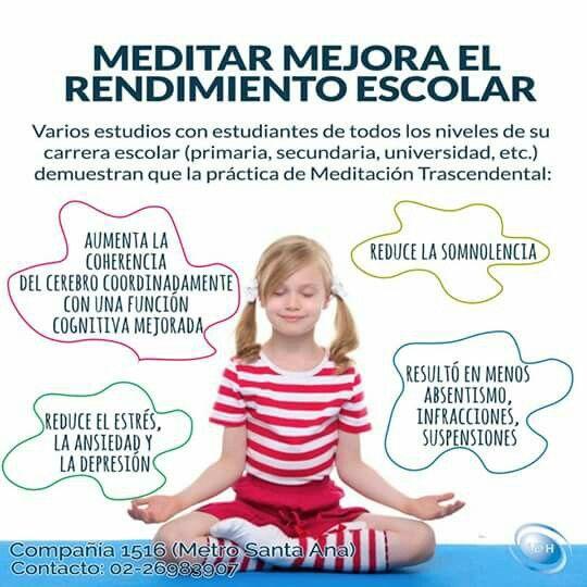 Niños y la meditacion