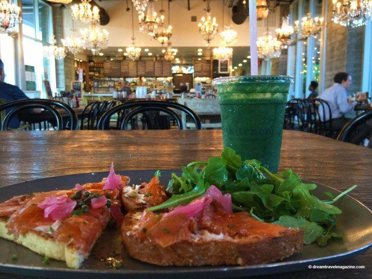 Breakfast At Buffalo Bayou S Kitchen The Dunlavy Restaurant Houston Texas