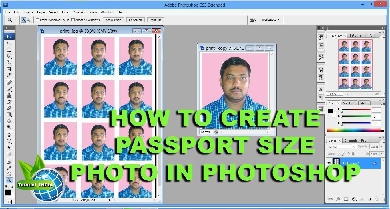 How to create passport size photos in adobe photoshop one click how to create passport size photos in adobe photoshop one click i phot baditri Gallery
