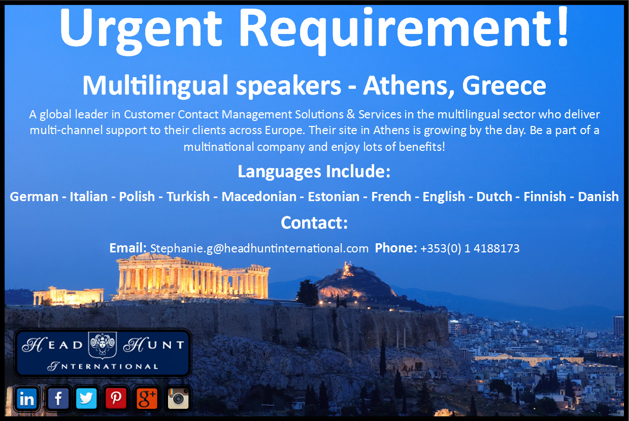 calling all multilingual speakers exciting career exciting career