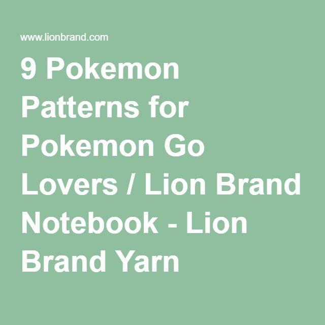 9 Pokemon Patterns for Pokemon Go Lovers