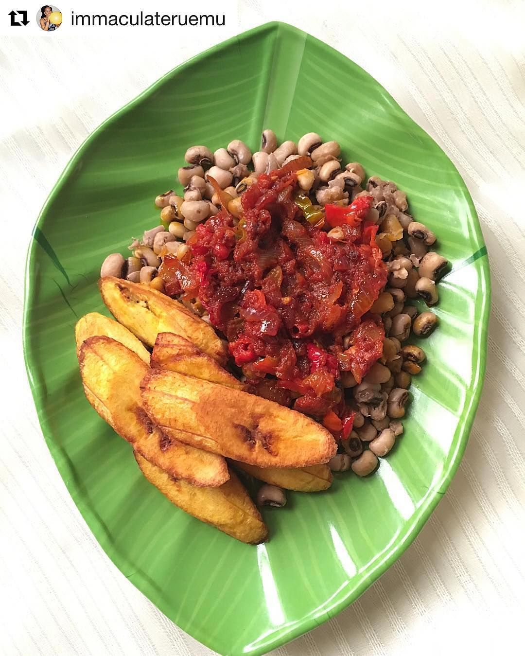 Cuisiner Le Plantain I N S P I R A T I O N Beans Stew And Plantain This Trio