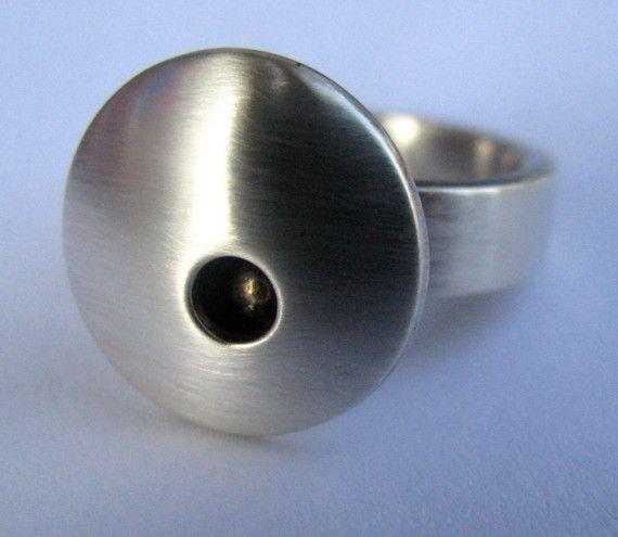 Peephole Ring by AngieMeyersDesigns on Etsy, $155.00