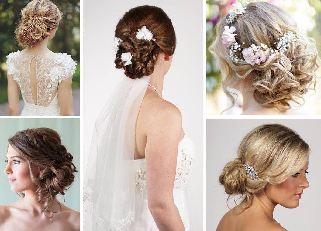 messy bun hairstyle for wedding wedding hair ideas for long