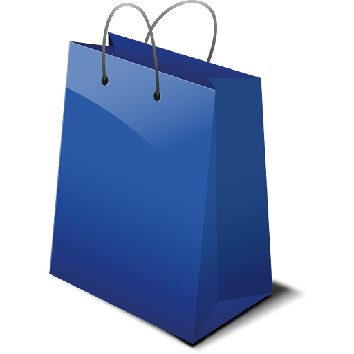 Blue Shopping Bag Png Image Png Png Images Shopping Bag