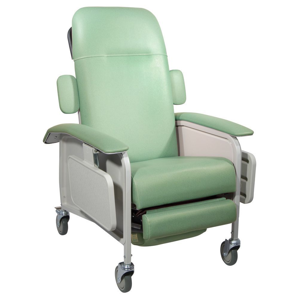 Drive Medical Clinical Care Geri Chair Recliner, Silver | Products ...