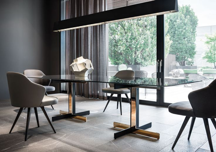 Catlin Quot Dining Quot Table And Leslie Little Armchairs Rodolfo