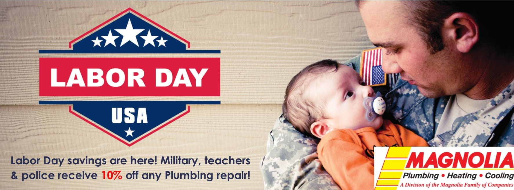Happy Labor Day Hvac Company Plumbing Repair Hvac Services