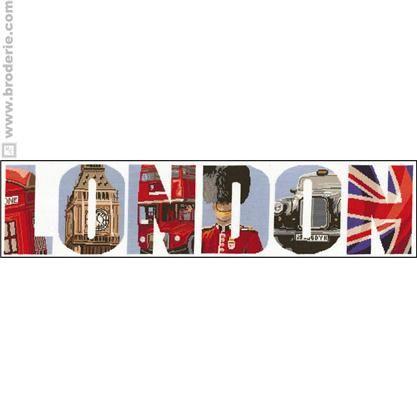 Kit point de croix - London - Princesse en 2020 (avec ...