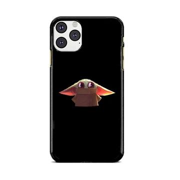 Baby Yoda Black Wallpaper Art iPhone 11 Pro Case Babycase