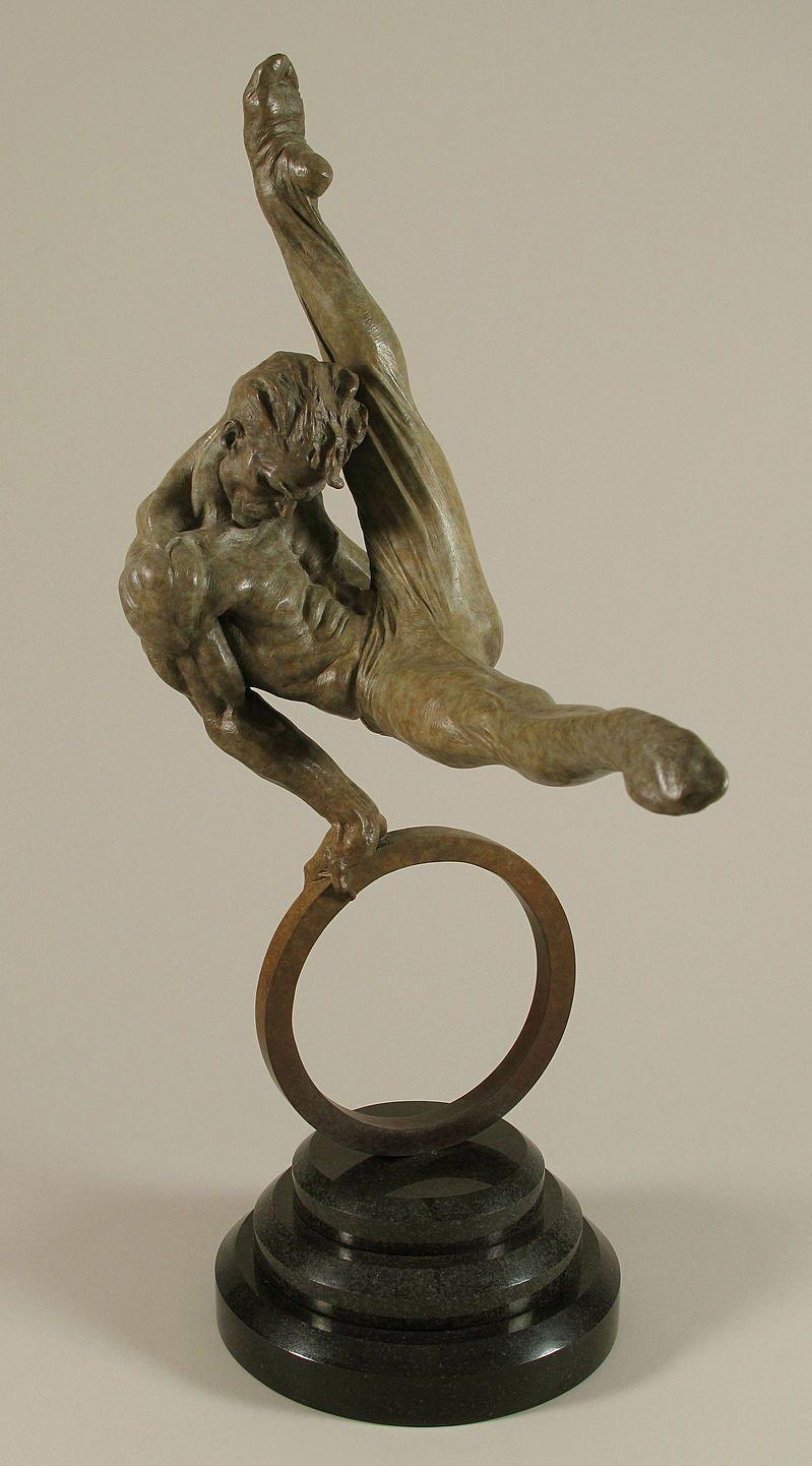Richard MacDonald | Gymnast, Half Life - Bronze. | sculpture ...
