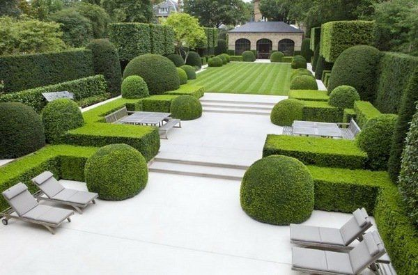 Five Classic Styles For The Garden Design Fabulous Landscaping Ideas Garden Architecture Modern Garden Design Modern Landscaping