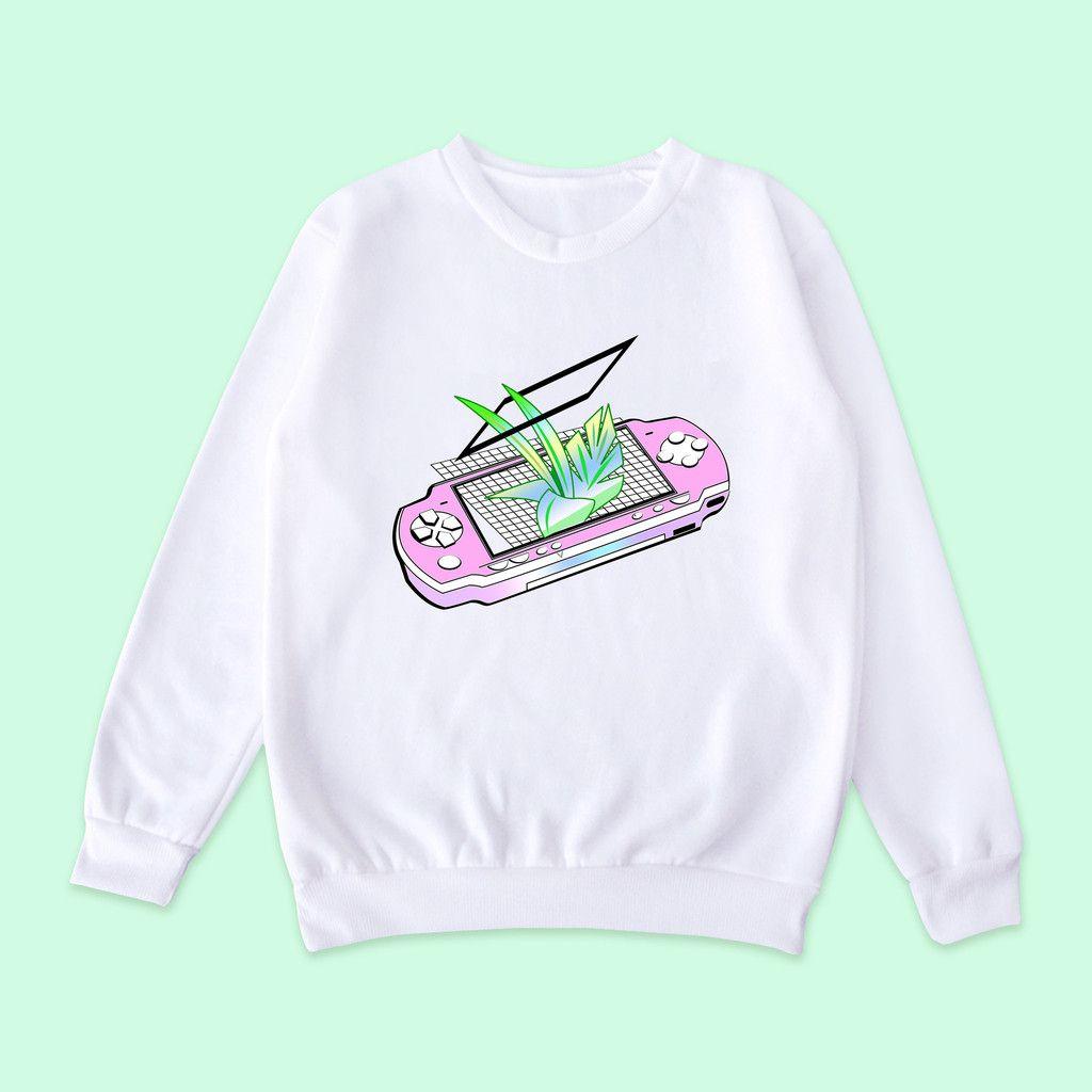 Vaporwave-tumblr-aesthetic PSP jumper | gimme these ...