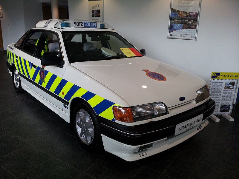This Ford Granada 2 9i 4x4 Rs Police Concept Car 1 Of A Kind