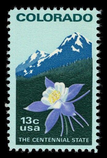 1976 Us 100 Th Anniversary Of Colorado Statehood