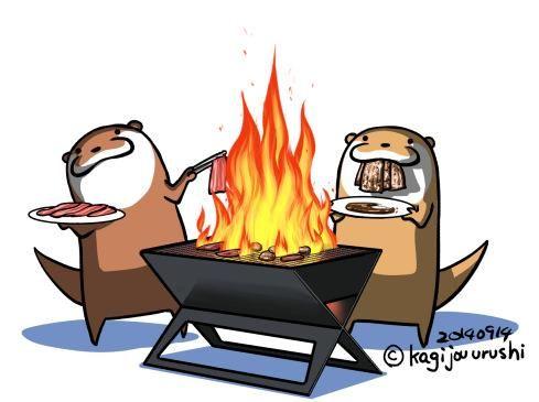 肉焼き祭り 他。過去絵更新。 http://ameblo.jp/kotsumetti/entry-11948841123.html…