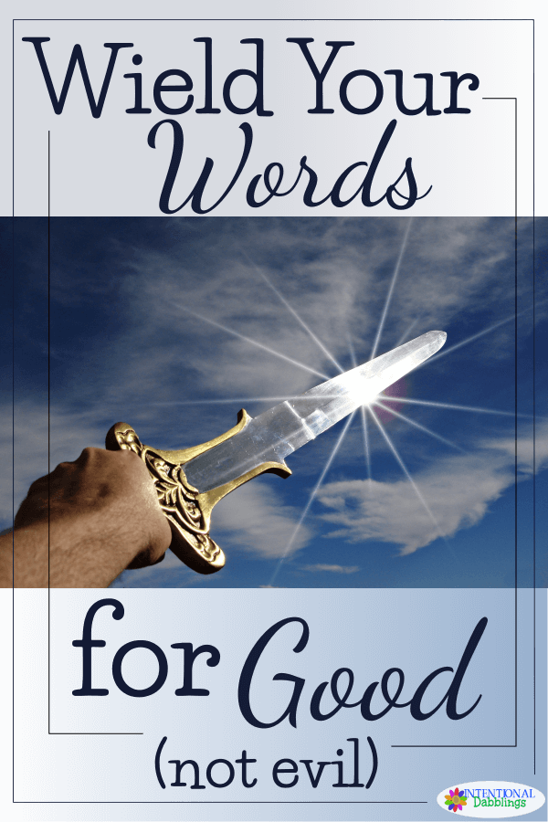 Using the power of words to strengthen our relationships