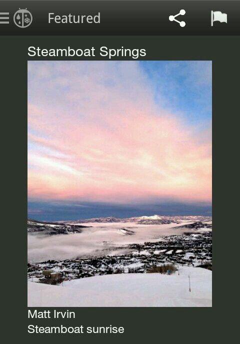 Steamboat beauty!