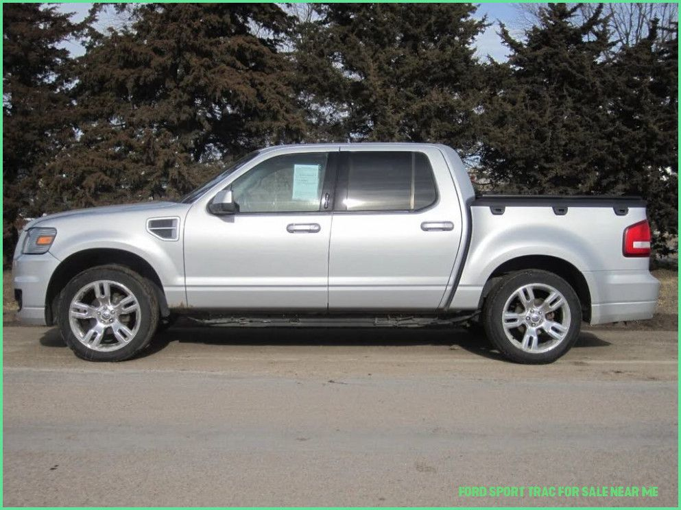 Five Taboos About Ford Sport Trac For Sale Near Me You