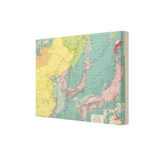 Chinese, Japanese ports Canvas Print | Walls