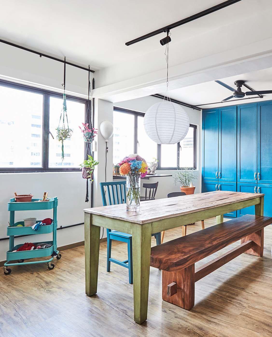 Home Design Ideas For Hdb Flats: Four-room HDB Resale Apartment. Design : Woodworks