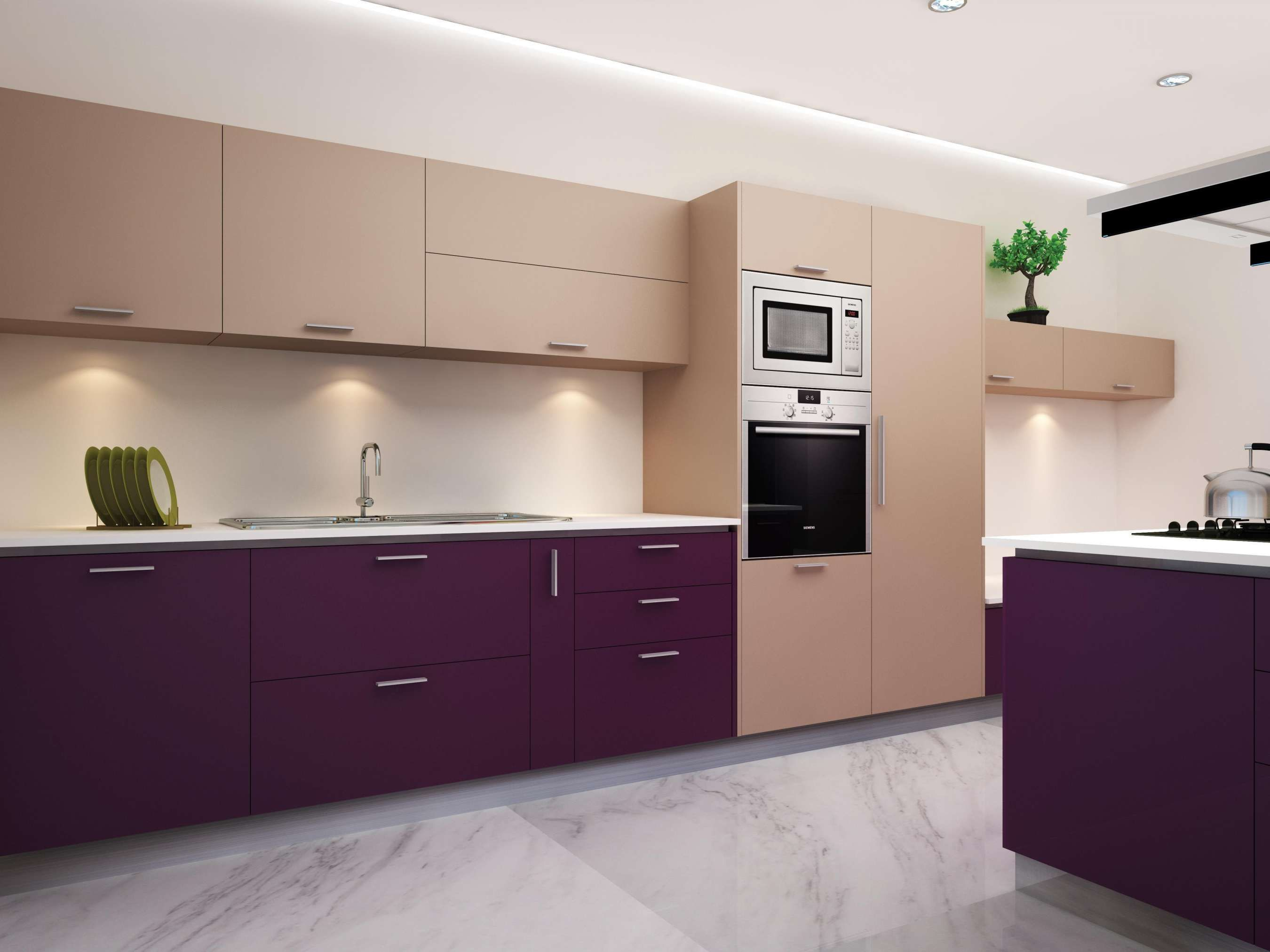12 Unique Kitchen Combination Color Photos   Kitchen ...