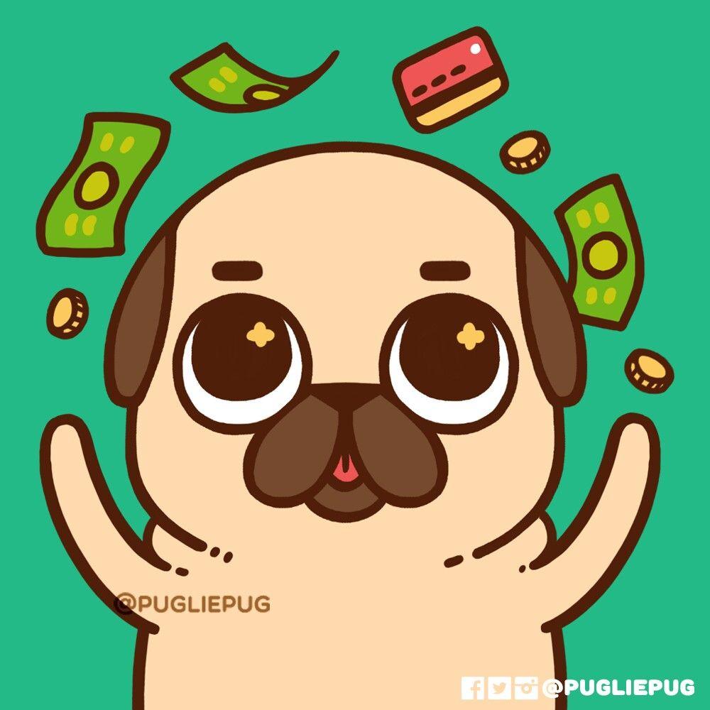 Pin De Angely En Pug Dibujos Faciles De Perros Dibujos De Pugs
