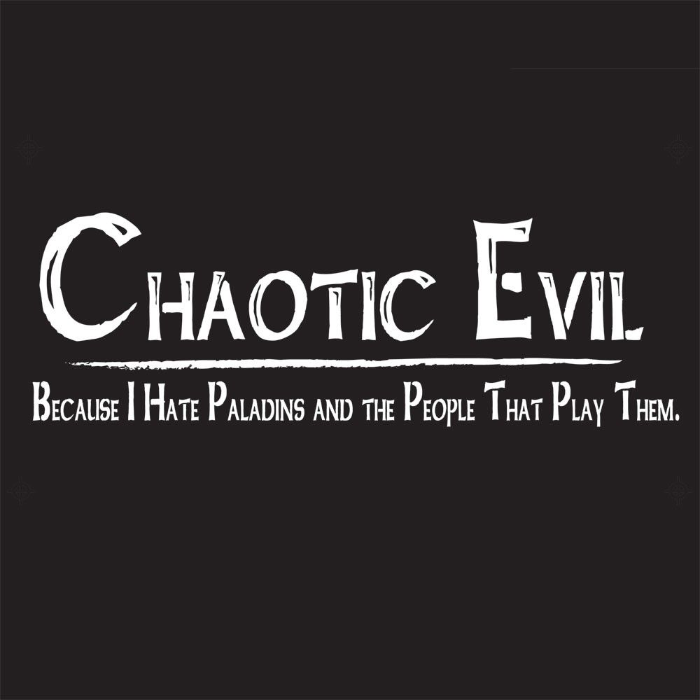 Chaotic Evil | RPG, Dragons and Gaming